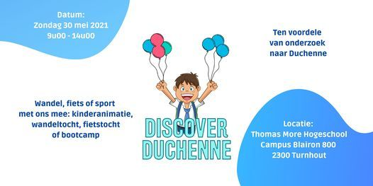 Discover Duchenne, 30 May | Event in Turnhout | AllEvents.in