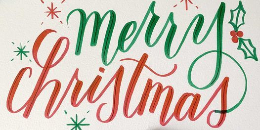 Holiday Card Workshop: Brush Calligraphy and Fauxligraphy Lettering, 6 December | Online Event | AllEvents.in