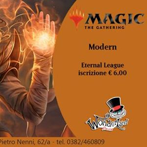 MAGIC Modern (Tappa 18 Eternal League)