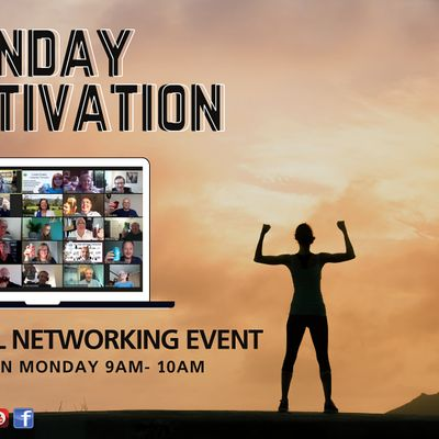 Monday Motivation Online Networking Event - Swindon Wiltshire Gloucester