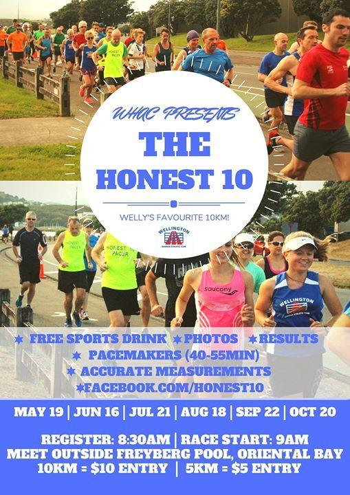 WHAC Presents Honest 10 Sep