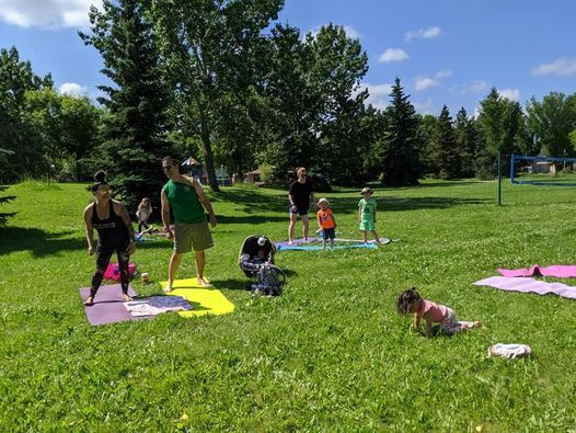 FAMILY YOGA IN THE PARK, 20 June   Event in Edmonton   AllEvents.in