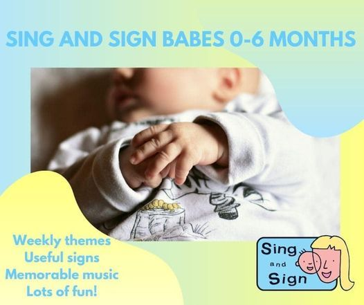 Sing & Sign Babes live - 10 week course | Event in Chesham | AllEvents.in