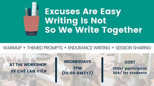 IWN Weekly Creative Writing Workshop, 27 January   Event in Danang   AllEvents.in