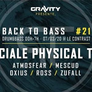 Gravity - Back To Bass 21 Speciale Physical Tool