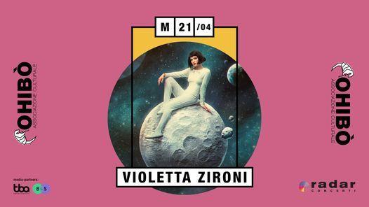 Violetta Zironi in concerto allOhib