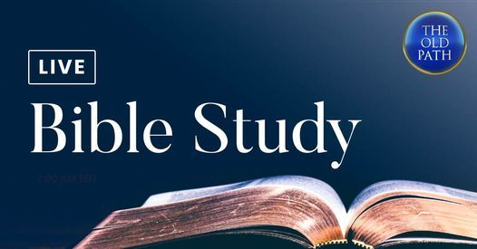 Live Bible Study | Event in York | AllEvents.in