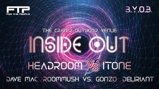 Inside Out ft. Headroom, Dave Mac, Roommush vs. GonZo, Nexon, Ethereal & Friends, 7 August | Event in Bellville