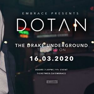 Dotan at The Drake Underground  Nov 3