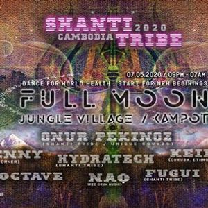 Shanti Tribe Full Moon Party Kampot Jungle Village