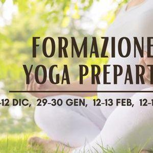 Corso Formazione Yoga Preparto 2021