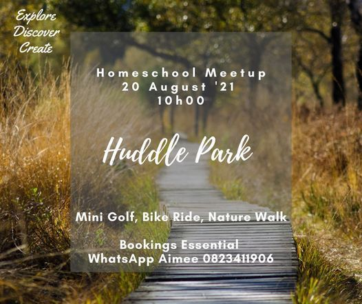 Discover Huddle Park, 20 August | Event in Johannesburg | AllEvents.in