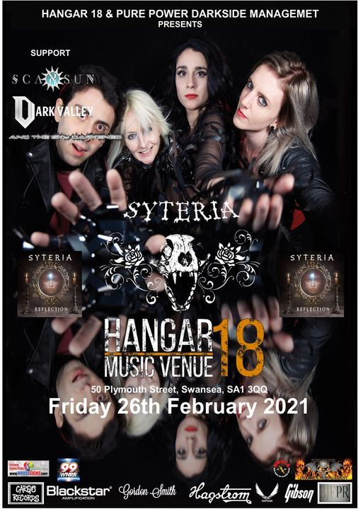 Syteria with support from Scarsun, Dark Valley & And The Sky Darkened | Event in Swansea | AllEvents.in