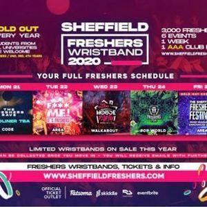 The Sheffield Freshers Wristband  Sheffield Freshers 2020