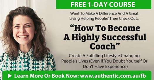How To Become A Highly Successful Coach - Auckland (Free)