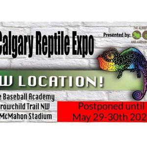 Calgary Reptile Expo May 29-30 2021