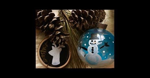 Kids and Family All Ages Ornament Painting 22 Class