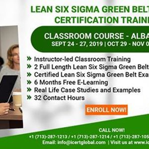 Lean Six Sigma Green Belt (LSSGB) Certification Training Course in...