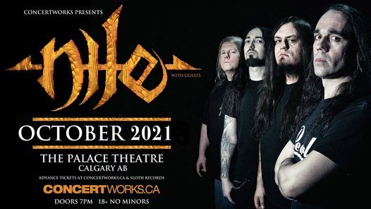 Nile with special guests - Calgary, Palace Theatre, 12 October | Event in Calgary | AllEvents.in