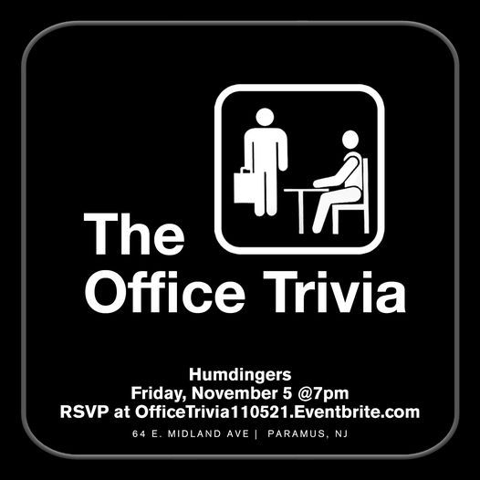 The Office Trivia, 5 November | Event in Paramus | AllEvents.in