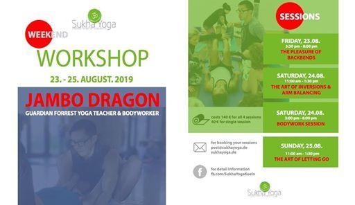 Weekend Workshop with Jambo Dragon
