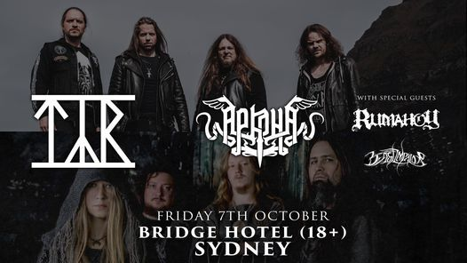 Tyr & Arkona - Sydney (Oct 2021), 22 October | Event in Rozelle | AllEvents.in
