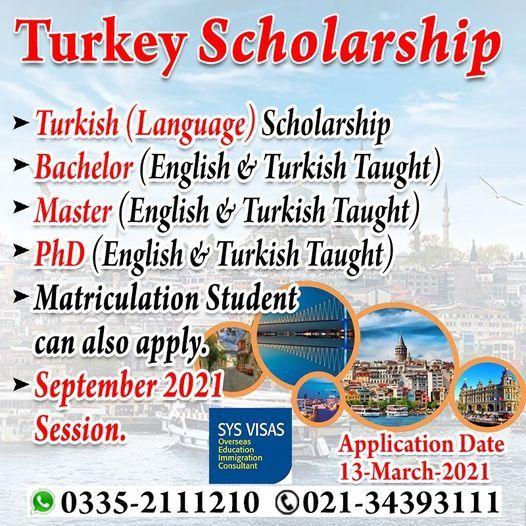 Study In Turkey 2021, 13 March   Event in Karachi   AllEvents.in