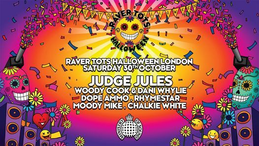 Raver Tots Halloween Party at Ministry of Sound, 30 October | Event in London | AllEvents.in