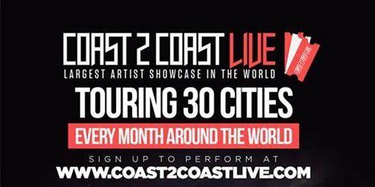 Coast 2 Coast LIVE Artist Showcase MelbourneAus - 50K Grand Prize