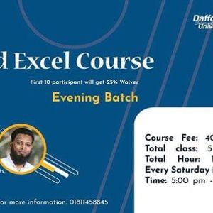 EXCEL Course V.2 DIU PC