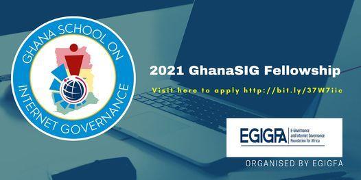 2021 Ghana School on Internet Governance (GhanaSIG) Fellowship, 28 June   Event in Accra   AllEvents.in