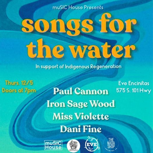 Songs for the Water- Paul Canon ISW  Miss Violette & Dani Fine