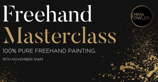 Freehand Masterclass, 15 November   Event in Billericay   AllEvents.in