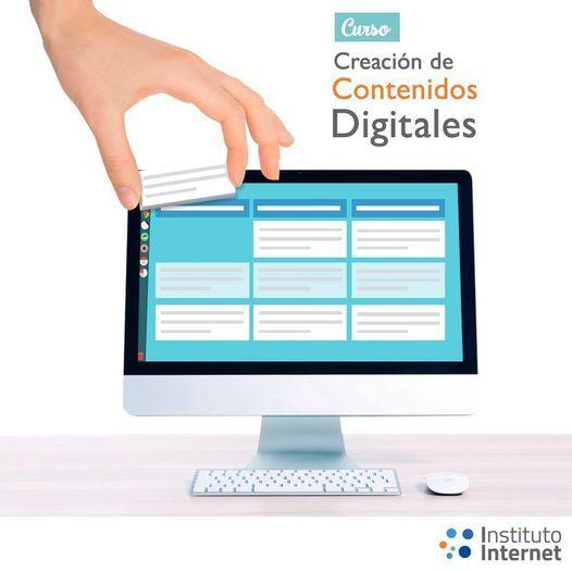 Curso Creación De Contenidos Digitales Instituto Internet Caracas March 30 2021 Allevents In