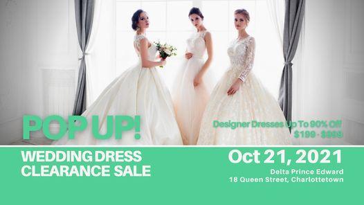 Charlottetown Pop Up Wedding Dress Sale | Event in Charlottetown | AllEvents.in