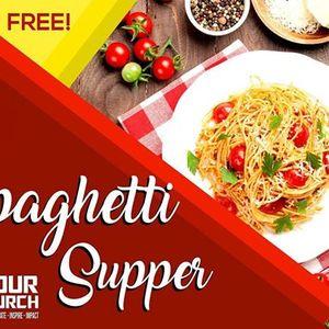 Free Spaghetti Supper