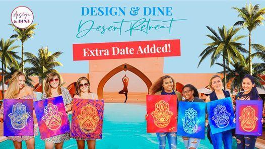 Design & Dine - Desert Retreat (Extra Date Added!), 4 June | Event in Abu Dhabi | AllEvents.in