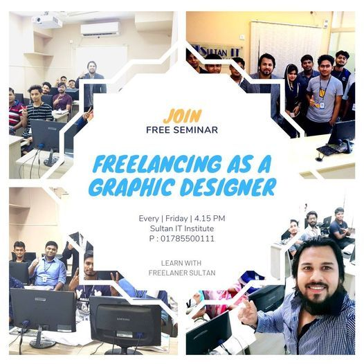 FREE SEMINAR - Learn with Freelancer Sultan | Event in Narail | AllEvents.in
