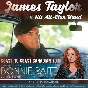 James Taylor and Bonnie Raitt  Moncton