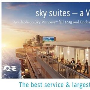 New Sky Princess Ship Winter Caribbean Cruises 2019-2020