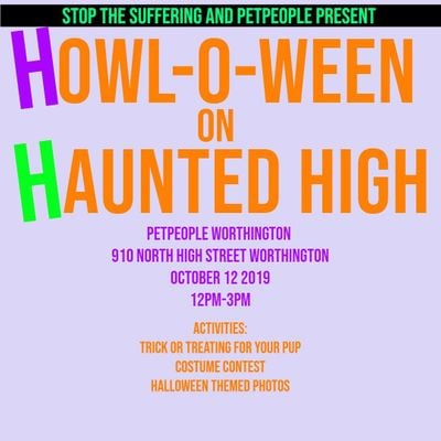 STS and Pet People present Howl-o-ween on Haunted High