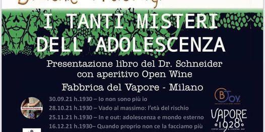 Fabbrica del Vapore - I Tanti Misteri dell'Adolescenza, 28 October   Event in Milano   AllEvents.in
