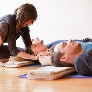 Online Yoga class with Padmadarshini
