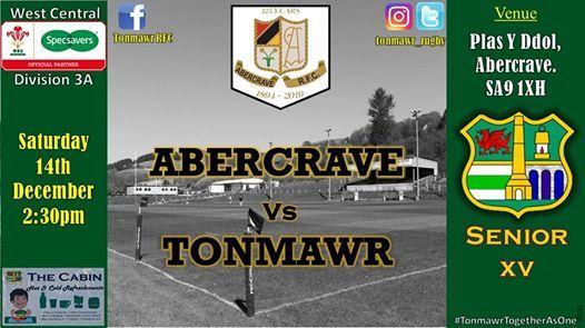 Senior XV Rugby Tonmawr V Abercrave
