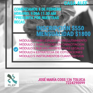 Diplomado Habilidades At Co Warq Ciudad De México
