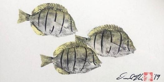 How To Gyotaku The Art of Japanese Fish Printing with Desmond Thain