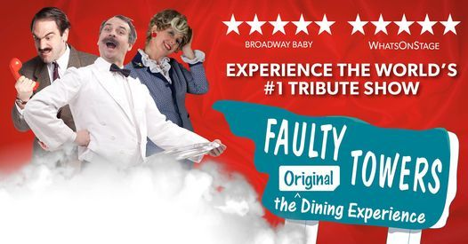 Faulty Towers - The Original Dining Experience, 27 August | Event in Perth | AllEvents.in