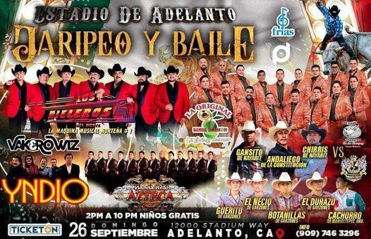 Gran Jaripeo Baile - Los Rieleros del Norte / Yndio Banda Real Azteca / La Original Banda El Limón, 26 September