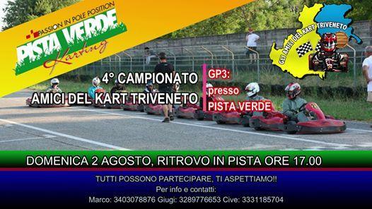 GP3 - 4 Campionato Amici del Kart Triveneto  Pista Verde