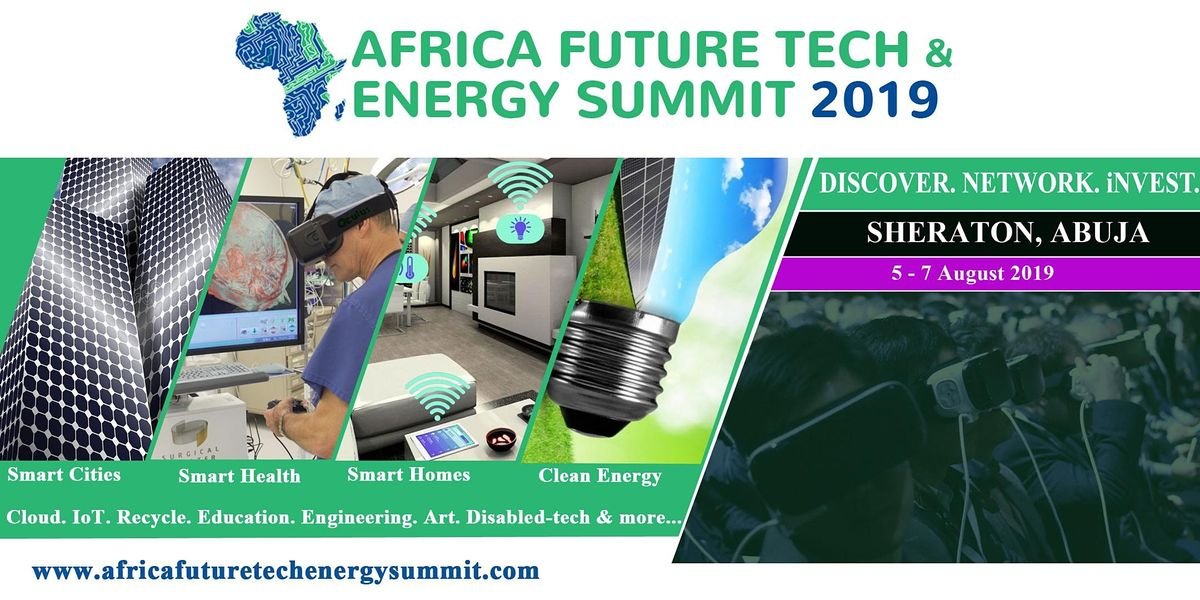 Africa Future Tech & Energy Summit 2021, 5 August | Event in Abuja | AllEvents.in